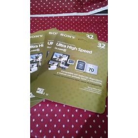 Micro Sd 32 Gb Sony Clase 10 / Envio Incluido