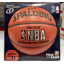Balon De Basquetbol Nba Silver Spalding Indoor/outdoor No.7