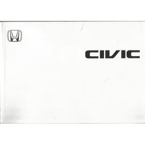 Manual Proprietário Honda Civic 2002 Lx, Ex C/suplementos