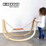 Sube Baja Vaivén By Windwood - Madera Cuero Diseño Escandina