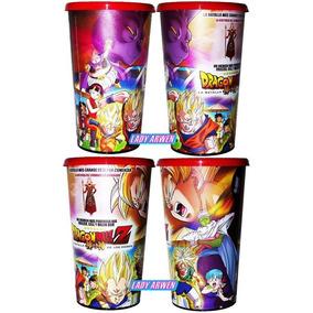Vaso Original De Cine Dragon Ball Batalla Dioses Goku Vegeta