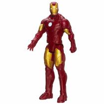 Iron Man Serie Titan Hero Traje De Batalla Hasbro 30 Cm