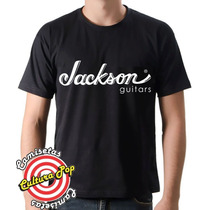 Camiseta Instrumentos Musicais Jackson Guitars.