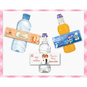 Etiquetas Para Botella De Agua Personalizadas