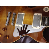 Pickguard Espejo, Transparente Y Aluminio Les Paul