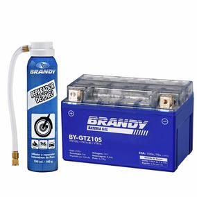 Bateria Yamaha Yzf-r1 04 Gel Brandy By-gtz10 + Rep