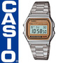 Reloj Original Casio A158 Vintage Plata - A158wea-9cf