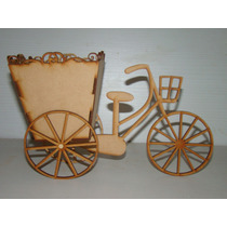 Bicicleta Fibrofacil Mdf Candy Bar Cumpleaños