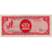 Trinidad Y Tobago Billete De 1 Dollar Año 1964