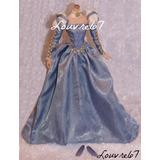 Vestido Zapatos Barbie Collector Renaissance Faire Louvre67