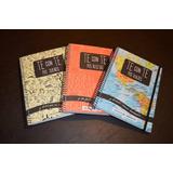 Cuadernos Artesanales Preimpresos Viajes Recetas Sueños