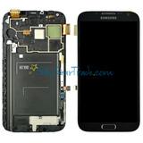 Tela Touch Display C/aro Samsung Note 2 N7100 Novo+ Brinde