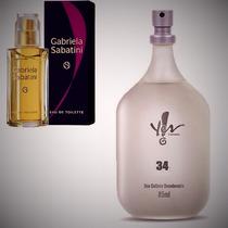 Perfume Deo Colônia 34 Inspiração Gabriela Sabatini Yes! Fem