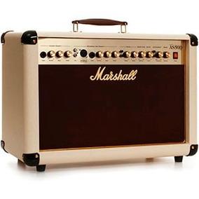 Amplificador Marshall Para Violão 50w As50d