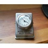Antiguo Reloj-pinza Aprieta Papeles. Funciona