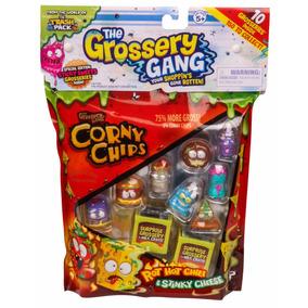 Educando Grossery Gang Pack Chips 8 Figuras + 2 Fig Sorpresa