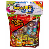 Grossery Gang Pack Chips 8 Figuras + 2 Fig Sorpresa Educando