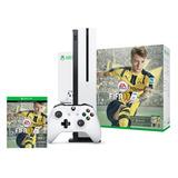 Consola Xbox One S 500gb Slim Nueva 220v + Fifa 17 En Loi