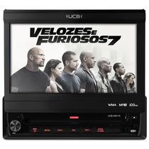Dvd Tela 7 Retratil Ucb 170 Radio Am Fm Usb Rca Mp3 Touch