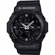 Relógio Casio G-shock Ga-150 Wr-200 5 Alarmes Hora Mundial P