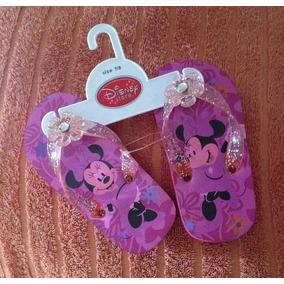 Chanclas Minnie Mouse - Niña Numero 7/8 Americano - (16cm)