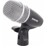 Microfone Shure Dinâmico Pg56 Xlr Para Caixa Tom