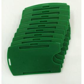 Porta Cracha Cor Verde Universal Mares Kit Com 100 Peças.