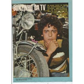 Pôster - Marcos Paulo - Revista Sétimo Céu - Ano 1971.