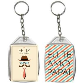 Dia Dos Pais Chaveiro Acrilico Personalizado 3x4 - 100 Unid