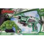 Pistola Nerf Hulk Brinquedo Arma Lança Atira Dardos Avenger