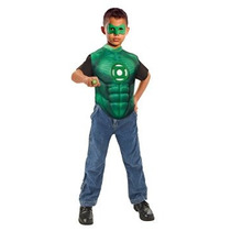 Disfraz Niño Green Lantern Hal Jordan Conjunto De Trajes -