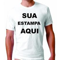Camisa Com Estampa Personalizada