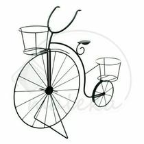 Porta Macetas Bicicleta De Hierro