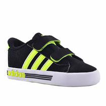 Zapatillas Adidas Neo Daily Team Bebés Negro