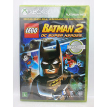 Jogo Infantil Xbox 360 - Lego Batman 2 - Lacrado - Novo