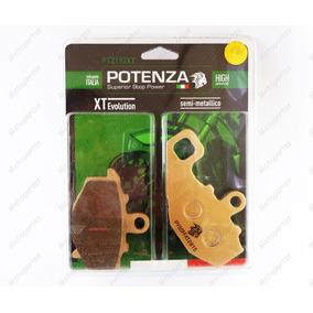 Pastilha Traseira Potenza 192 Kawa Er6n Versys 650 Ninja 650