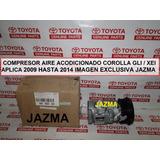 Compresor Aire Acodicionado Corolla 2009 2014 Orig Toyota