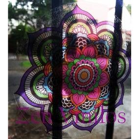 Mandalas Vinilos Autoadhesivo Decorativos Transparente