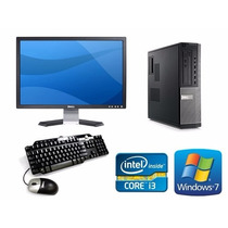 Super Remate Core I3 Baratas 4gb Ram 250hdd Monitor Lcd