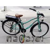 Bicicleta Eléctrica Mujer Playera Neobici Bogota