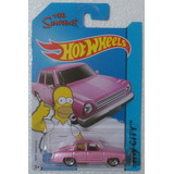 Hot Wheels Simpsons Auto Familiar Rosa Homero 2015