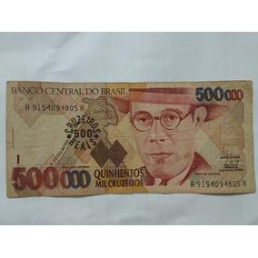 Nota De 500 Mil Cruzeiros