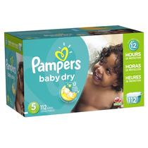 Pampers Baby Dry Etapa 5 - 112 Pañales