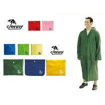 Poncho De Lluvia Camping Emergencia Impermeable Botones Ypt
