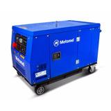 Generador Eléctrico Motomel M12000d 13 Kva Trifásico