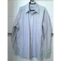 Camisa Masculina Tam 44 100% Algodão, Plus Size, Tam Grande
