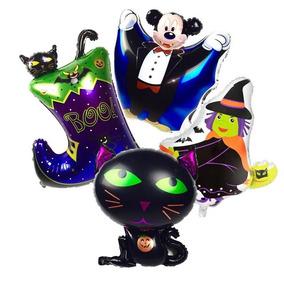 Globos De Halloween O Dia De Muertos Desde 8 Pesos 6 Mod Dif