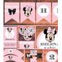 Minnie Vintage Kit Imprimible Personalizado Candy Bar Cumple