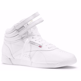 Tênis Reebok Freestyle High Top Sneaker Retro Authentic.