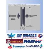 Poleas De 3-1/2 Pulgadas Equipos De Gimnasio - Multifuerzas